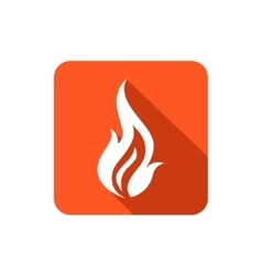 Fire icon vector