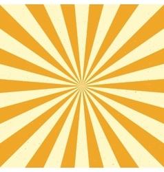 Burst background - Yellow vector image