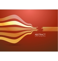 Abstract curve lines background for vector