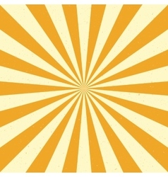 Burst background - Yellow vector image