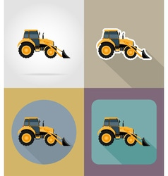 Transport flat icons 33 vector