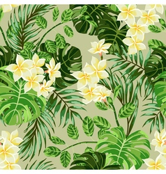 Seamless exotic pattern vector