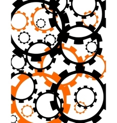 Cog wheels background vector