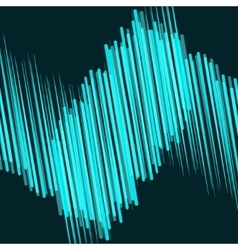 Abstract blue lines in motion vector