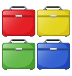 Colourful bags vector