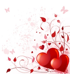 Valentine day card vector