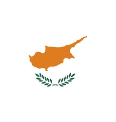 Flag of cyprus vector