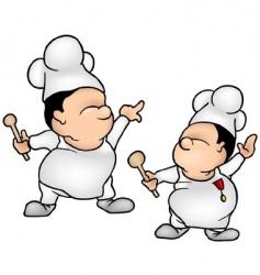 cook set vector image