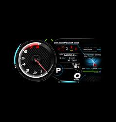 Car dash board eps 10 003 vector