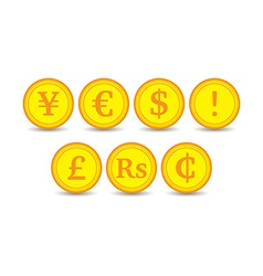 Coins vector