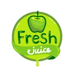 Fresh juice emblem 5 vector