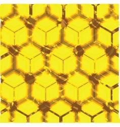 cube geometric pattern vector image