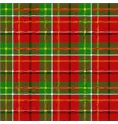 christmas squared seamless tartan fabric vector image