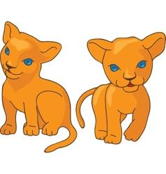 Leo kids vector image vector image