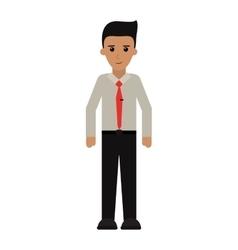 Man employee work business vector