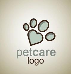 Pet care logo 11 vector