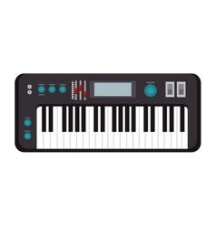 Piano musical instrument vector