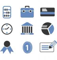 finance signs vector image
