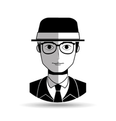 Gentleman avatar design vector