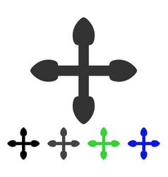 Arrows flat icon vector