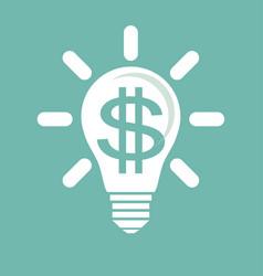 Idea to make money vector