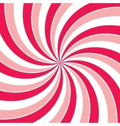 Swirling radial vortex background vector image