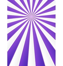 Violet and white rays abstract circus poster vector