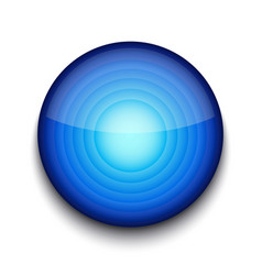 Abstract Blue App Icon vector image