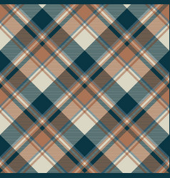 Check classic dark plaid fabric texture seamless vector