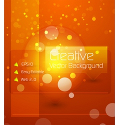 creative background vector image