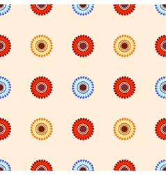 Floral pattern flowers vector