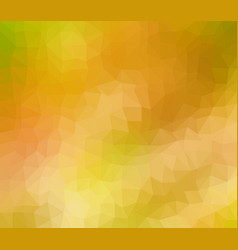 Abstract geometric background in orange vector