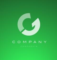 Alphabet letter G logo icon design vector image vector image