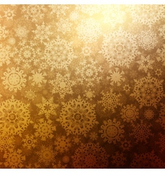Christmas background with snowflakes EPS 8 vector image vector image