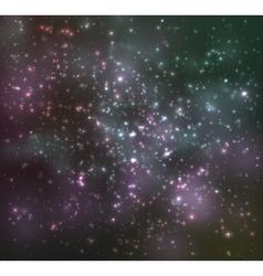 Dark night sky vector