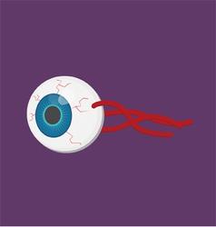 Human body part eyeball vector