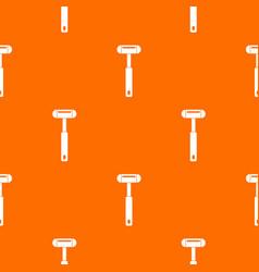 Reflex hammer pattern seamless vector