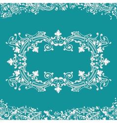 frame fancy background vector image