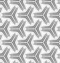 Monochrome rough striped small tetrapods vector