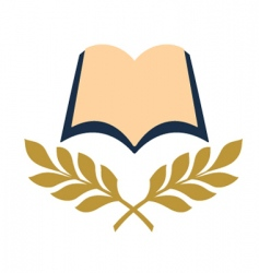 open book symbol vector image