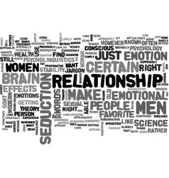 What men and women want text word cloud concept vector