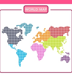 World map p vector