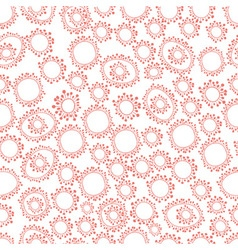 Abstract scribble pattern bacteria vector