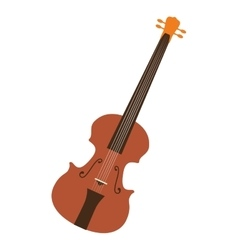 Classical violin musical instrument vector