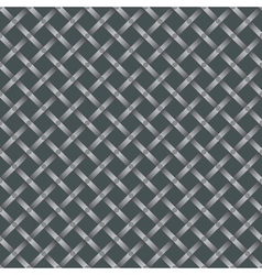 grating pattern with screws vector image