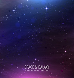 Space galaxy background vector