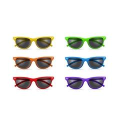 Unisex sunglasses vector