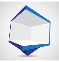 billboard icon vector image vector image