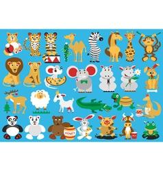 animals vector image
