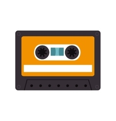 Retro audio cassete vector